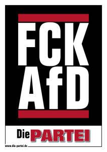"""Postkarte """"FCK AFD"""""""